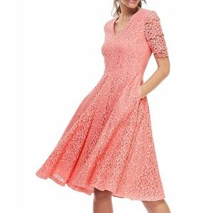 NWOT Gal Meets Glam Louisa floral lace dress, 4